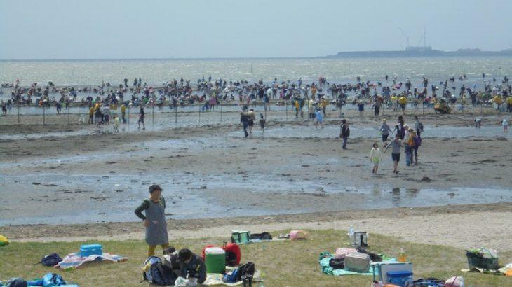 潮干狩り開催日のバーベキュー予約スタート!