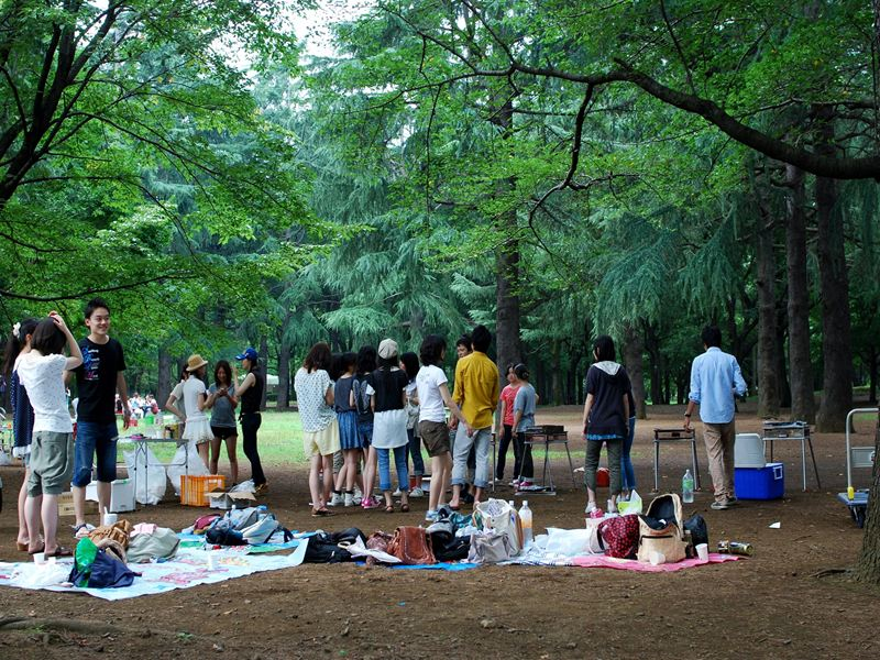 野川公園 バーベキューデリバリー
