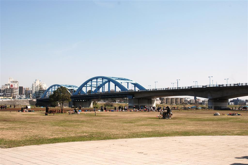 丸子橋 バーベキュー